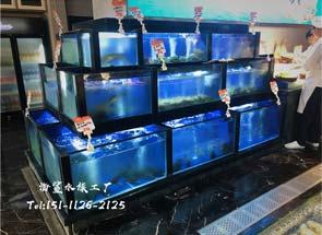 工程实例:海鲜酒店海鲜池