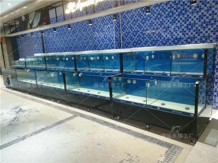 养海鲜水产要用大水体海鲜池吗?