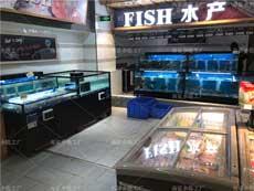 超市市场酒店海鲜鱼池定做 郴州益阳一手厂家