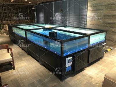 邵阳海鲜池厂家,饭店餐厅海鲜池定做