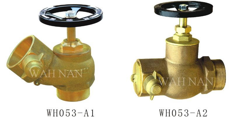 WH053-A Copper Alloy single outlet hydrant valve