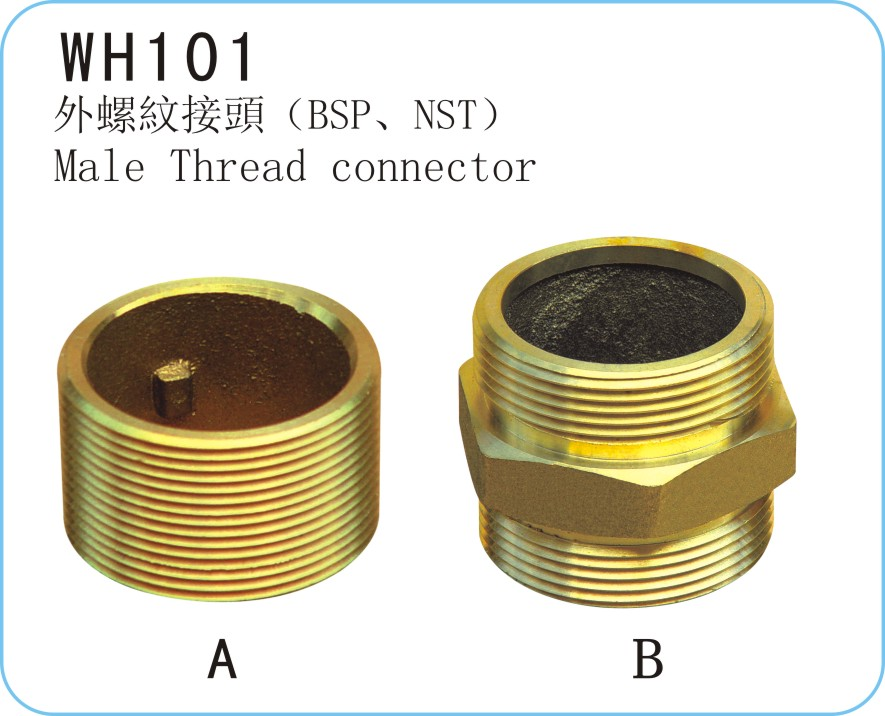 WH101 Male Thread Connector
