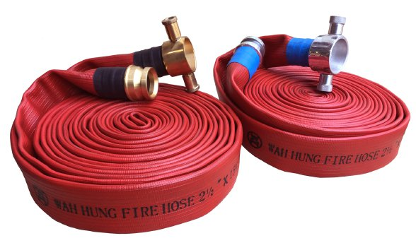 WH099-B Wear-resisting Fire Hose Connected With Hose Couplings