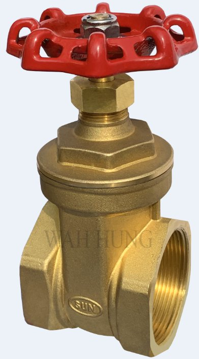 WH025 Copper Alloy Gate Valve With Female Threaded Ends