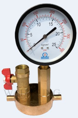 WH043 Fix Extinguisher Test Pressure Gauge