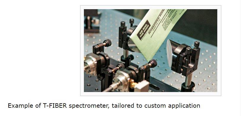 T光纤实时光纤耦合太赫兹光谱仪