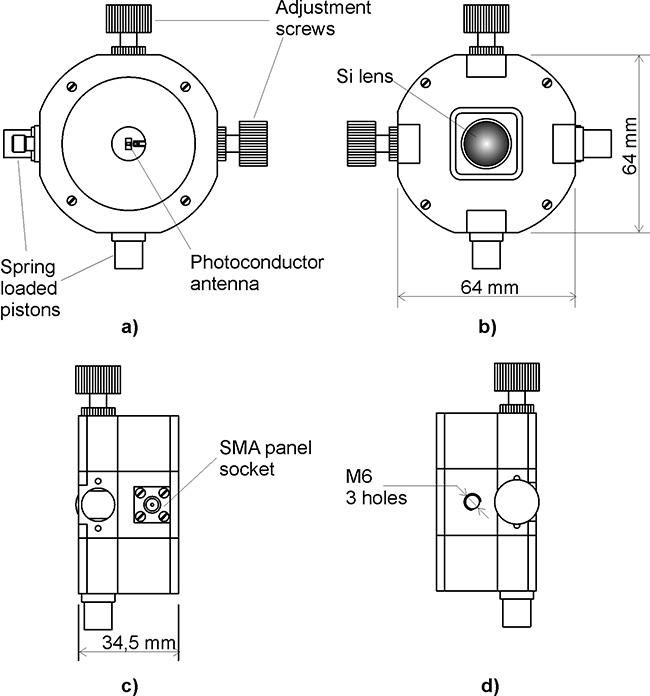 探测器/发射器支架