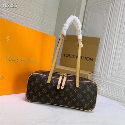 LV Shoulder Bag - #6678 Speedy Bandouliere 35