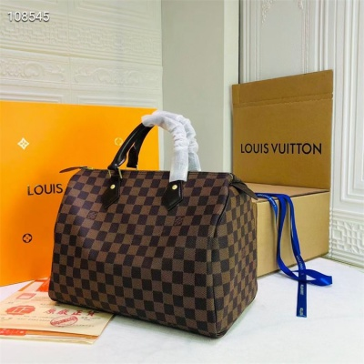 LV Shoulder & Handbag - #40392 Coffee Plaid Speedy