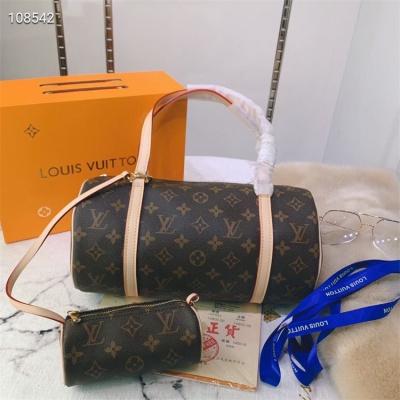LV Shoulder & Handbag - #40711 Classic Coffee 2 PCS Set