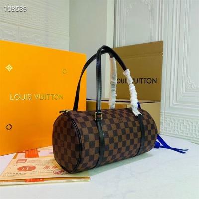 LV Shoulder & Handbag - #40711 Classic Coffee Black Handle