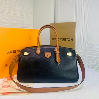 LV Totes - #57160 Black Leather All Set