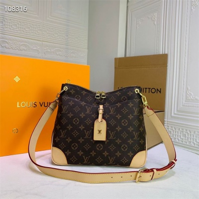 LV Shoulder & Cross Body Bag - #M45354 Classic Brown Large Size Metis