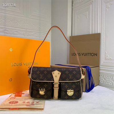 LV Totes - #M40027 Classic Vintage Cow Leather