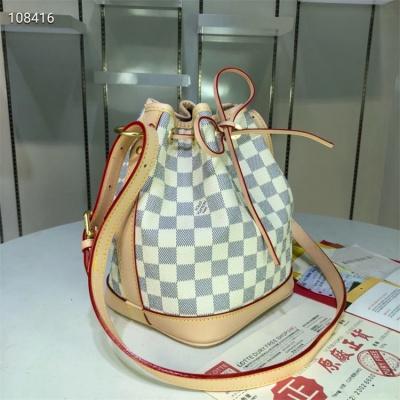 LV Shoulder & Cross Body Bag - #M40817 White Plaid Neonoe MM