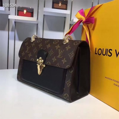 LV Chain Bags - #M41731 Combination Black Montaigne BB