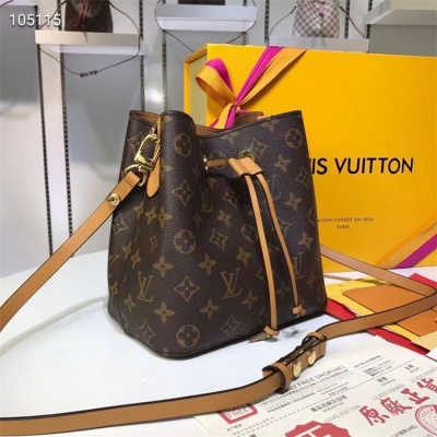 LV Shoulder & Cross Body Bags - #M44020 Classic Brown Neonoe Almond Lining