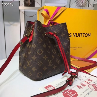 LV Shoulder & Cross Body Bags - #M44020 Classic Brown Neonoe Red Lining