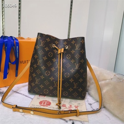 LV Shoulder & Cross Body Bags - #M44022 Classic Brown Neonoe Almond Lining
