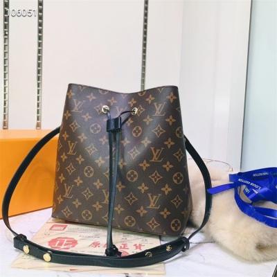 LV Shoulder & Cross Body Bags - #M44022 Classic Brown Neonoe Black Lining