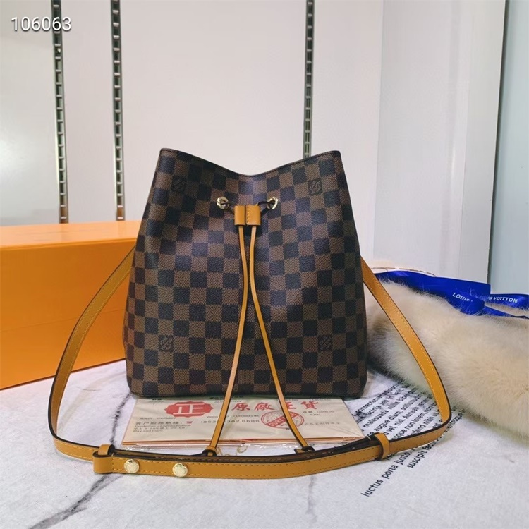 LV Shoulder & Cross Body Bags - #M44022 Brown Plaid Neonoe