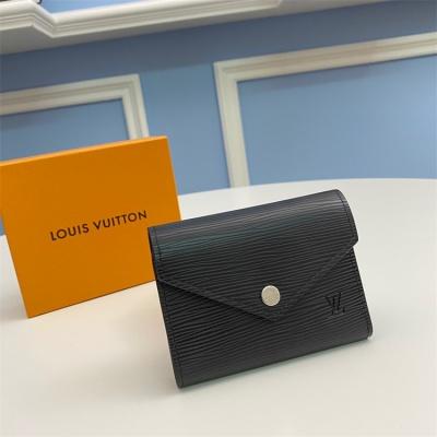 M62171 - LV Black Victorine Leather Wallet