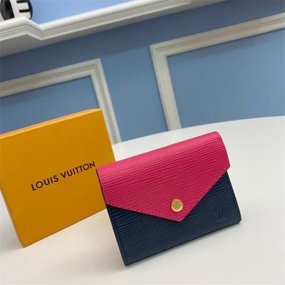 M62204 - LV Rose Pink Victorine Leather Wallet