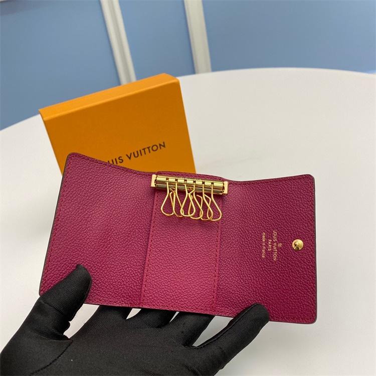M64421 - LV Burgundy Empreinte Leather Wallet
