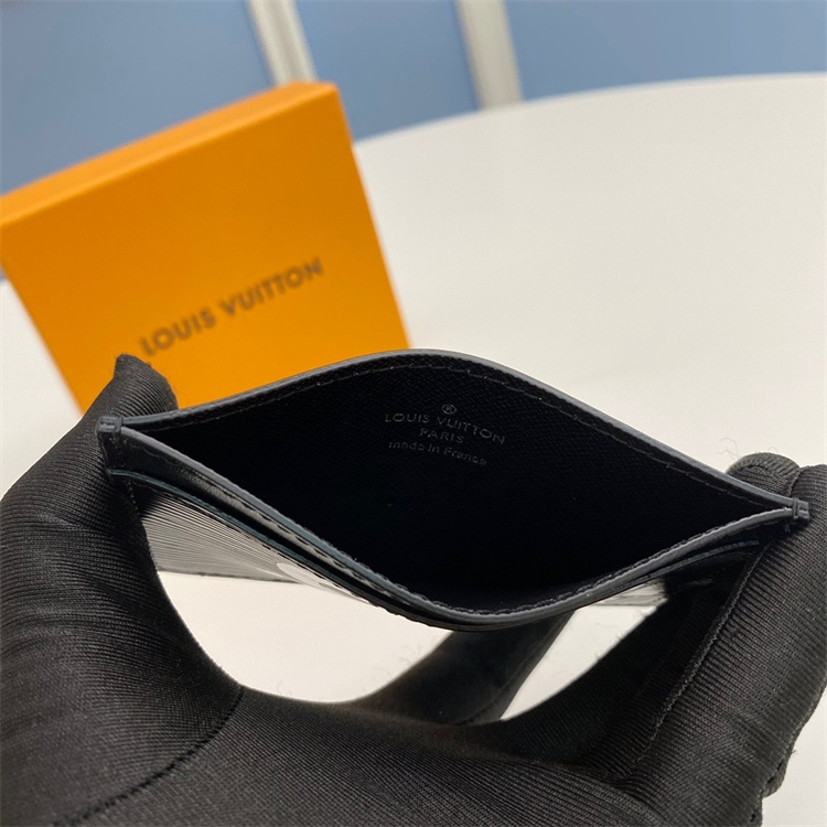 M66852 - LV Black Superme Leather Wallet