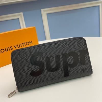 M66858 - LV Black Superme Epi Zippy Leather Wallet