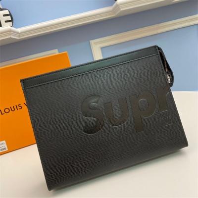 M66859 - LV Black Superme Epi Zippy Leather Wallet