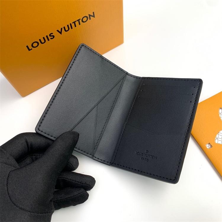 M69044 - LV Black Taurillon Leather Wallet