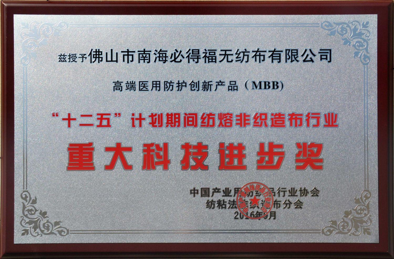 重大科∴技进步奖(MBB)