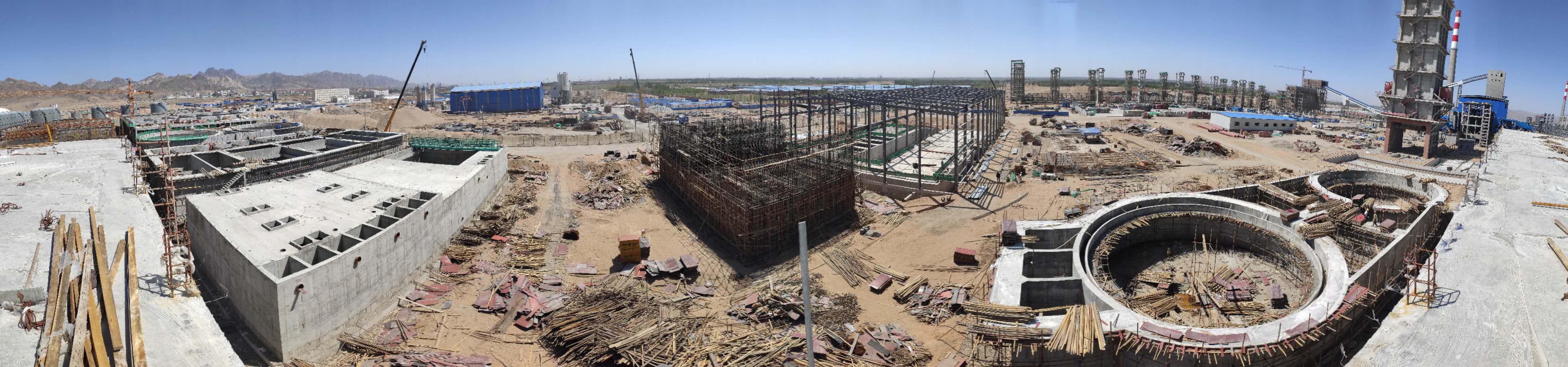 内蒙古黑猫煤化工综合污水处理项目(在建)