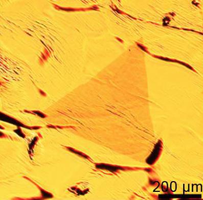 CVD Growth two-dimensional single layer tungsten diselenide (WSe2) nanosheets