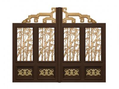 2100X3300-红古铜竹子