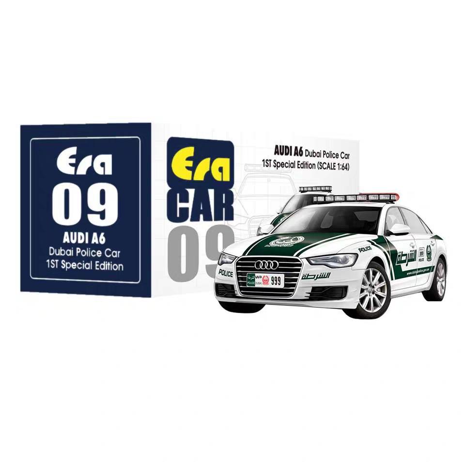 EraCar 1/64 Audi A6 model car