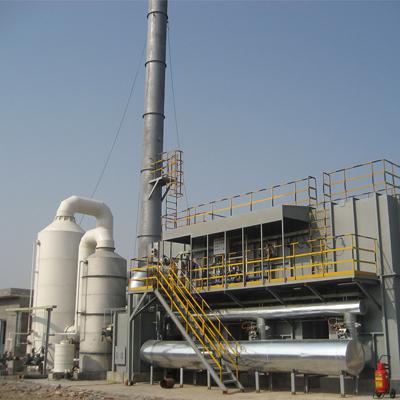 蓄热催化氧化焚烧炉