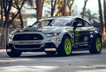 Vaughn Gittin Jr.'s Ford Mustang RTR