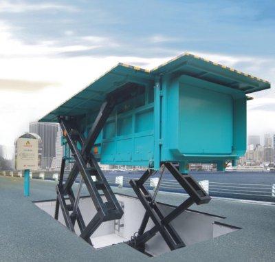 LSY系列地埋升降式垃圾压缩站
