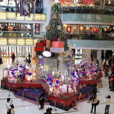 圣诞节中庭装饰