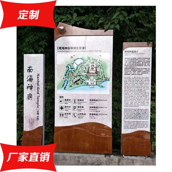 景区介绍标牌