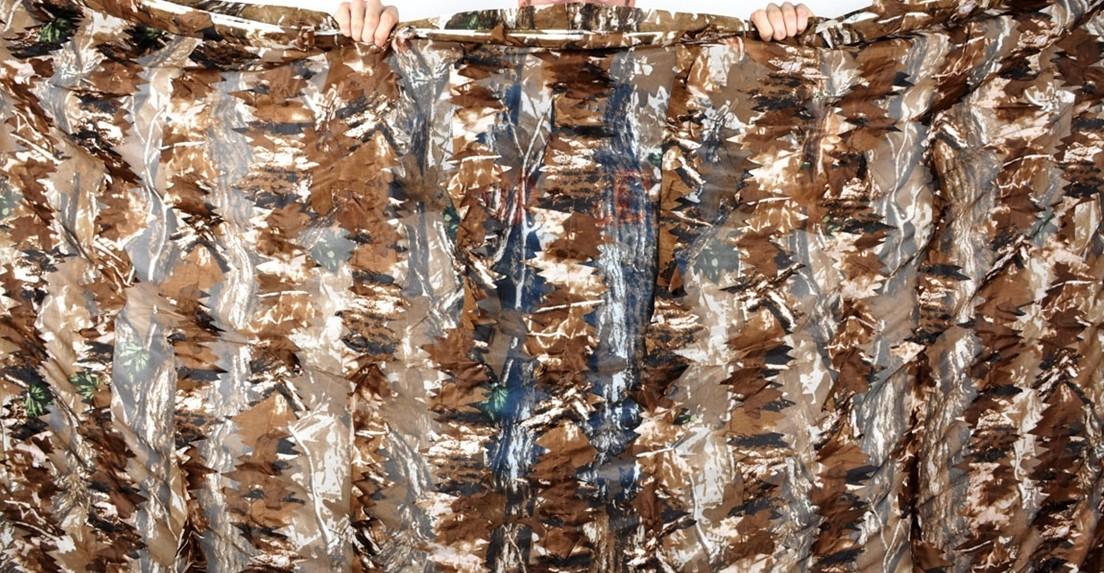 3-D Leafy camo net