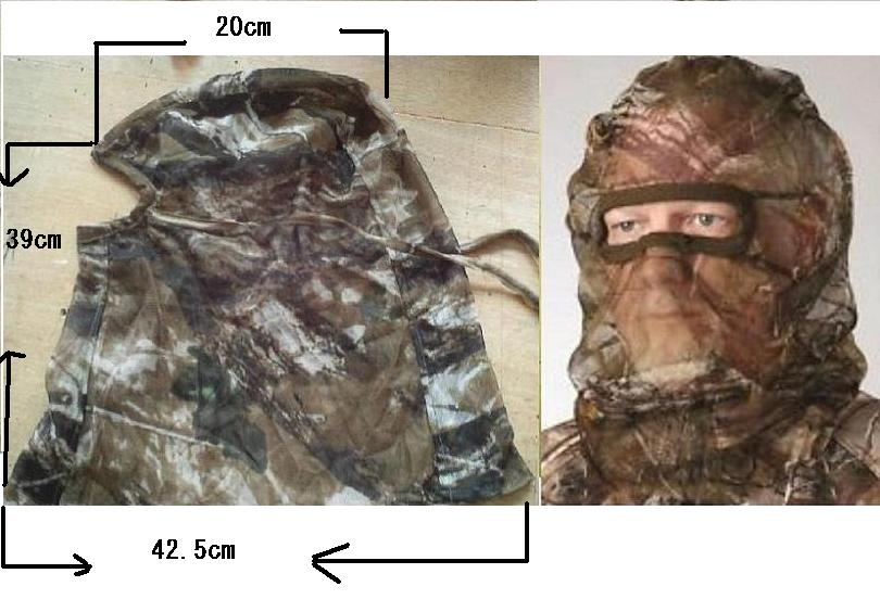 hunting Mesh Head Net Headnet Mask