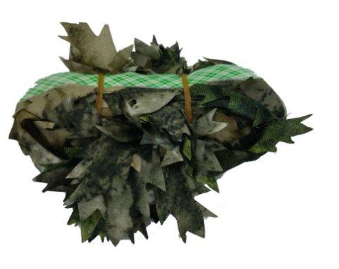 Camo Leaf Ghillie Suit Rifle Wrap Hunting Sniper Scrim Net
