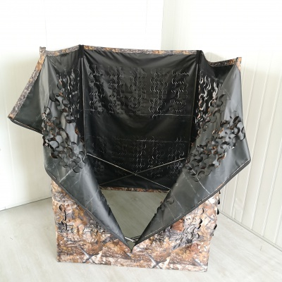 Camo GUNNER Pop Up Quick Set Hide Decoying Photography Tent Wildlife Decoys New