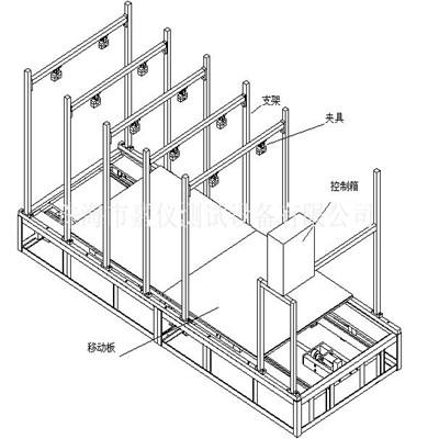 吸尘器地板刷寿命试验装置 JAY-5339