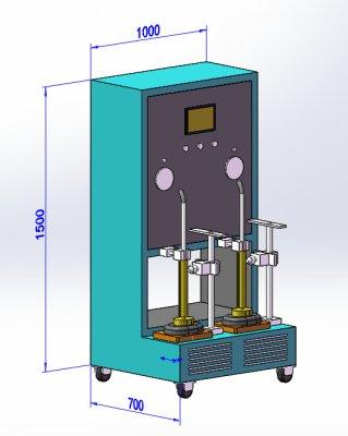 蒸汽地拖水箱密封性测试台 JAY-5198