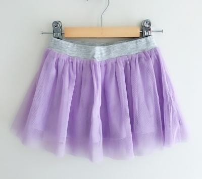 186002 baby girls mesh tutu - purple