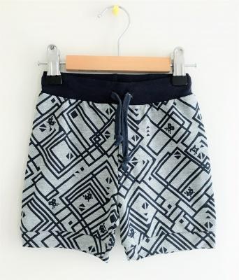 183004 baby boys knit shorts - pattern